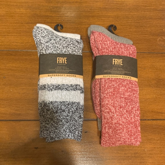 NWT Frye supersoft boot socks 4 pairs